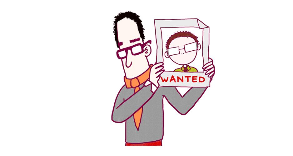 recherche employé informatique illustration graphiste et illustratrice freelance